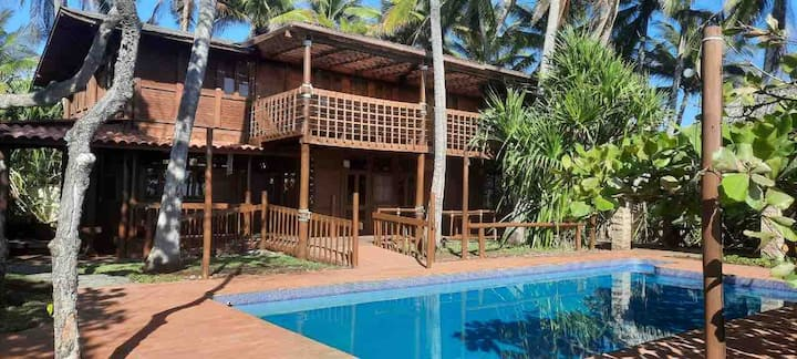 ★ Oasis Wood House - The Perfect Beach Getaway