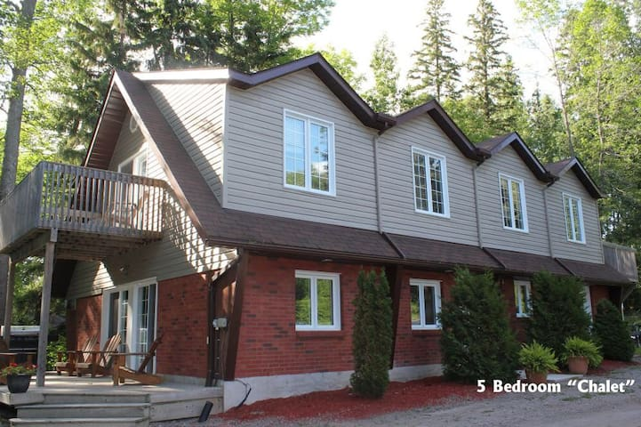 Sunnydale Chalet is the star of our cabin resort