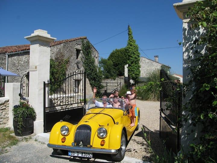 """""""Verdhello"""" : Child Friendly Gites, S/W France"""