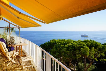 AMAZING view on BAIE des ANGES! CHARMING Apartment