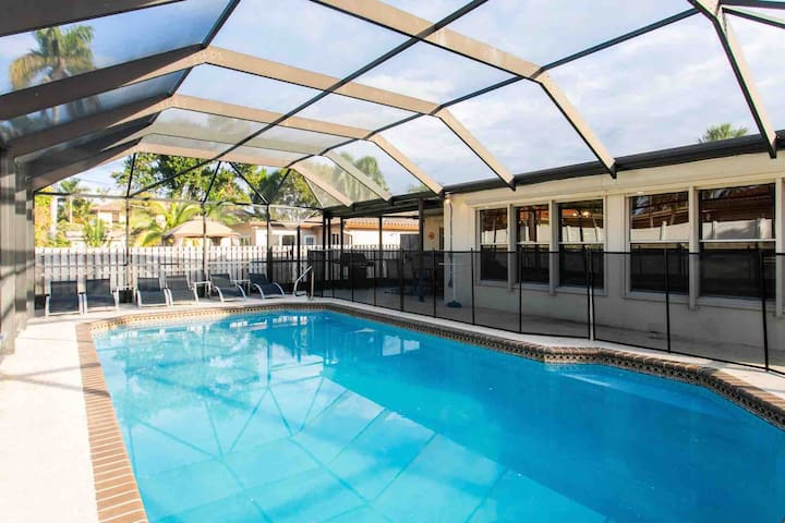 Deluxe 5BR Heated Pool near Hollywood Beach