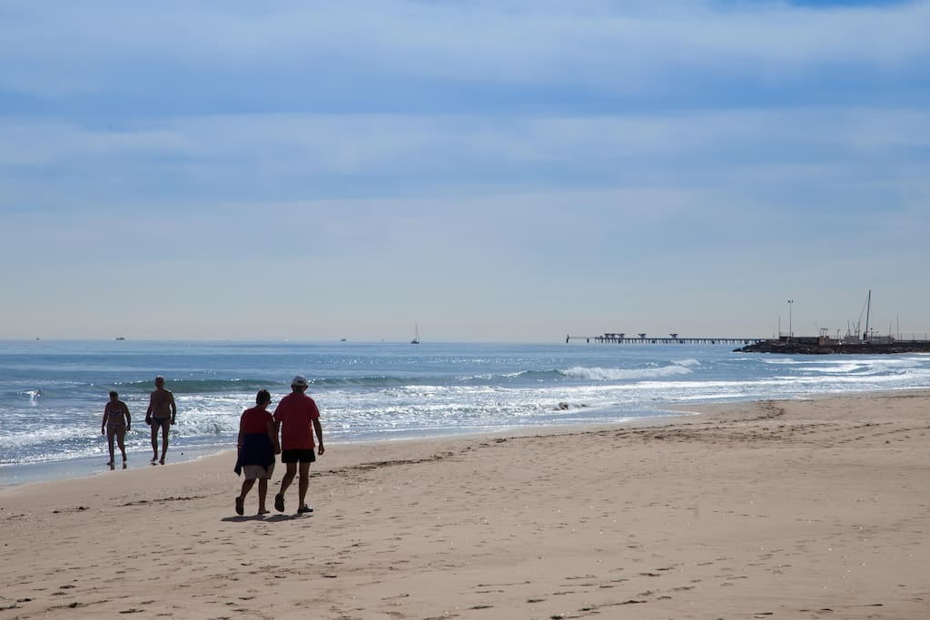 Canet's beach.