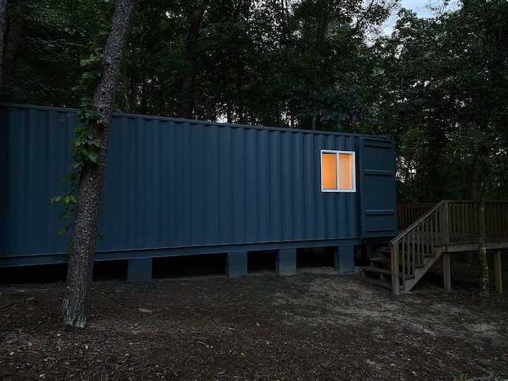 The Nest Shipping Container on Little River Canyon