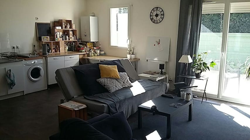 Appartement T3 68m2 avec jardin