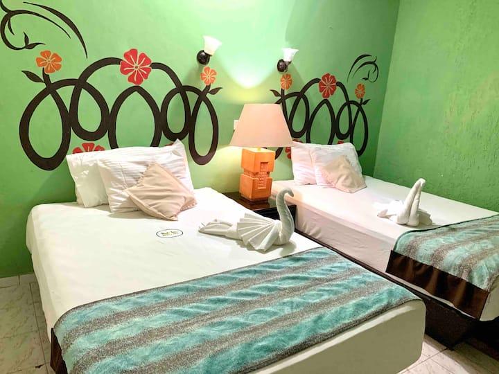 Green River Hermosa habitación en Izamal