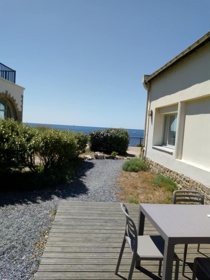 Appart 31 m2  dans résidence accès direct plage