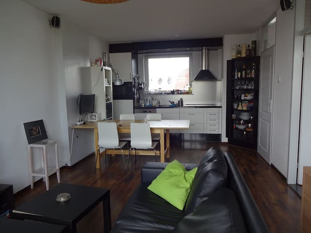 Two room apartment with balcony near city centre.