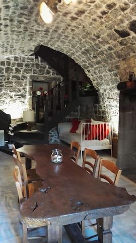 logement aux allures ardéchoises - Antraigues-sur-Volane