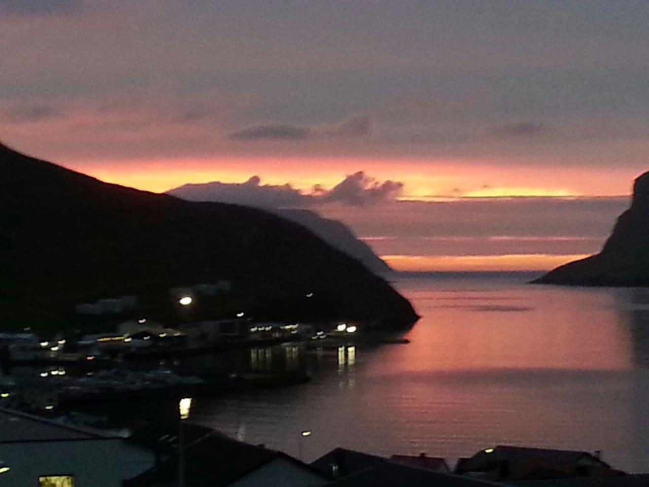 Sorvag fjord