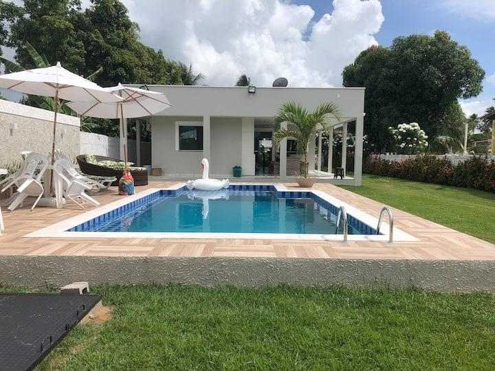 Casa c/ Piscina Ilha de Itaparica-Ba Nilson Debora
