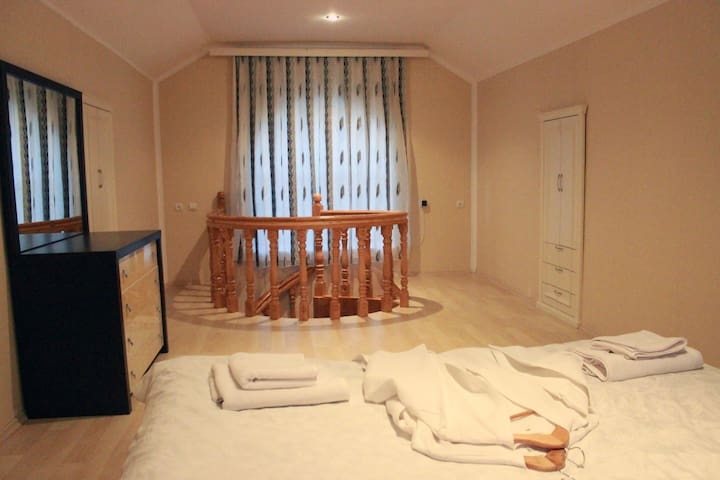 New cozy house. Qusar shahdag . Azerbaijan