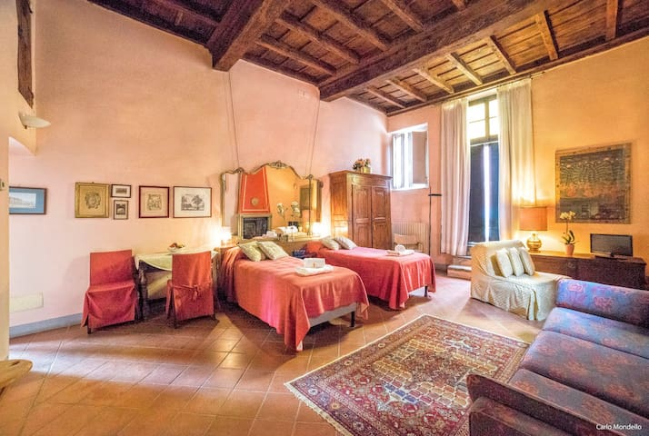 PBO1 Vintage apartment x4 with breakfast by Milan - Ozzero - Bed & Breakfast