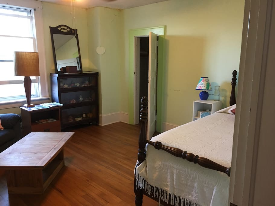 Roomy space with walk-in closet!