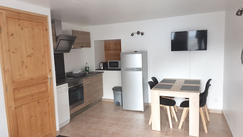 Risoul : appartement T2 coquet