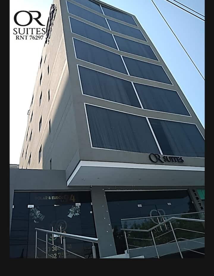 or suites hotel, cuenta con 41 habitaciones.