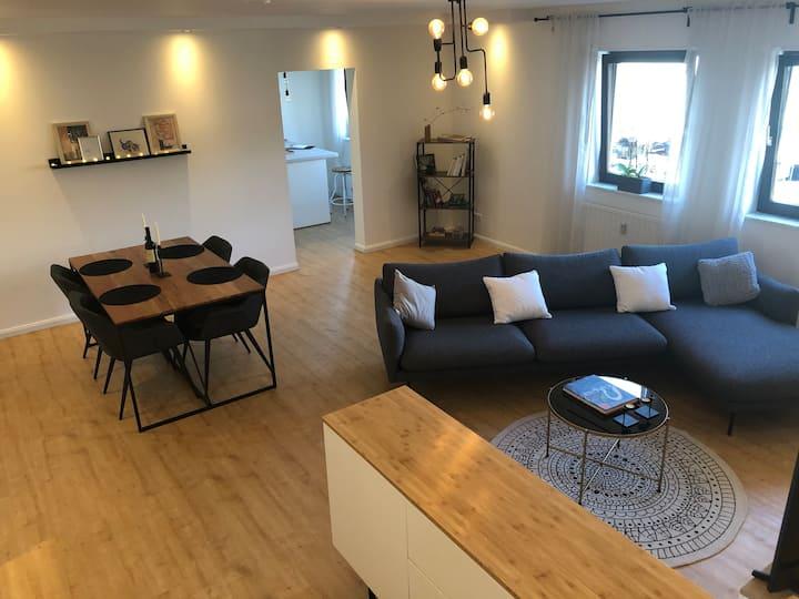 Modern 80qm Apartment in Mannheim city center