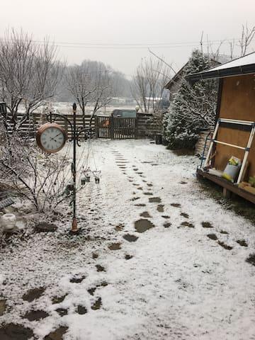 대청마루가 특징이면서 정원이 예쁘고 아늑한 한옥(바베큐무료이용) - 양평군 - Talo