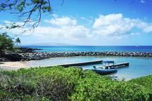 The Kihei boat ramp is right next door