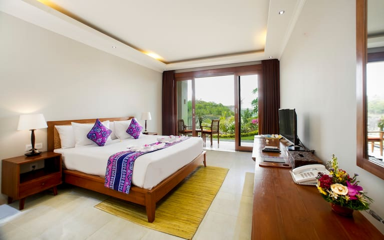 Comfy Deluxe Room in famous Pandawa Beach, Bali
