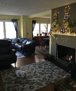 Comfy cozy home near Notre Dame - South Bend - Hus