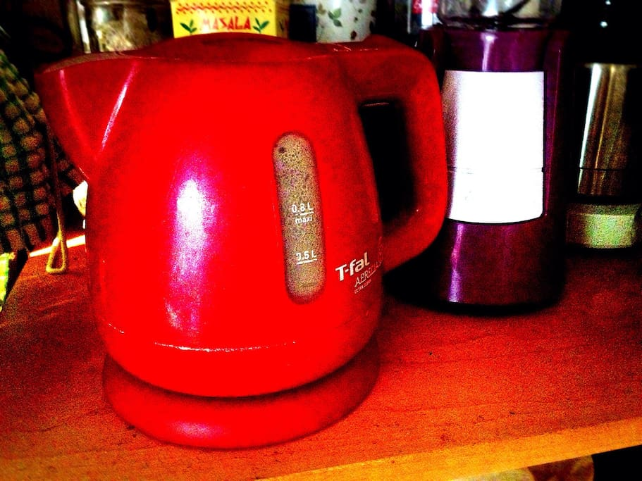 T-fal electronic kettle.