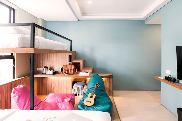 Best Instagramable ! Family Room in Kuta Beach