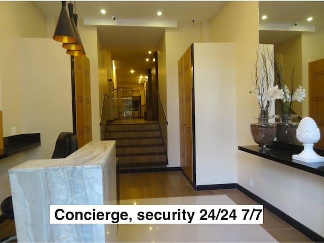 Building entrance Security 24/24 7/7