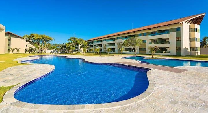 Apto Carneiros Beach Resort-Praia dos Carneiros