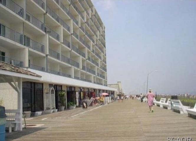 Front and Center: Beach, Pool and Boardwalk