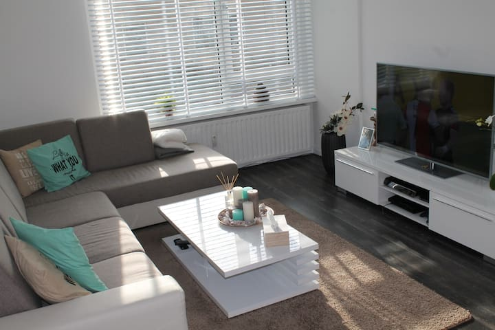 Spacious stylish apartment (near the city of Rdam) - Rotterdam - Lakás