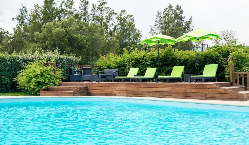 appart 30 m2 avec piscine - Zonza - Flat