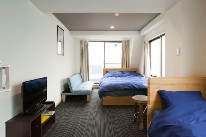 #701Asakusa Kuramae/2min walk/PrivateMordern Room