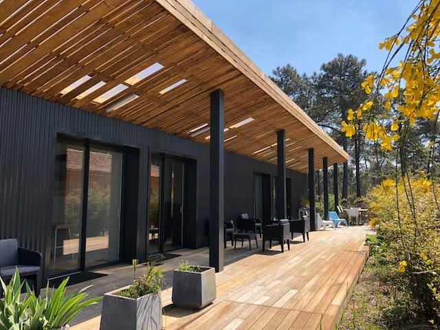 Chambres d'hôtes en villa d'architecte