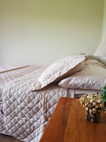 Nosso jogo de cama, quarto 2!