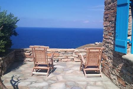 Sea View Traditional Stone House I - Otzias