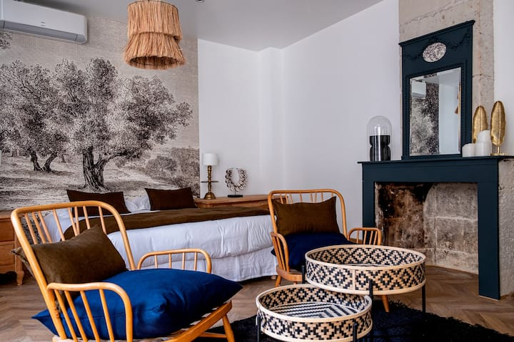 Charmante chambre / suite en plein coeur de Saumur