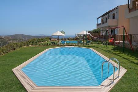 웃【 Near the beach】Relax Luxury Villa in Triopetra - Triopetra