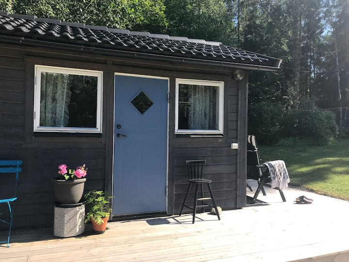 Vegan B&B in the forest — close to Stockholm city