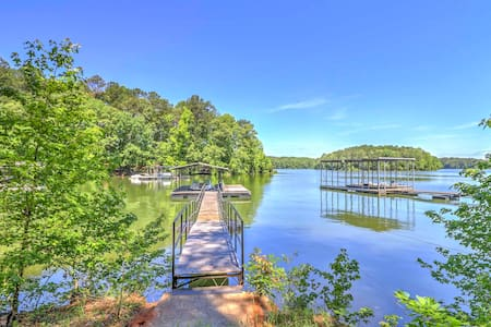 LaGrange Cabin w/Private Dock on West Point Lake!