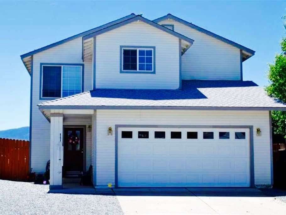 You will have entire access to a spacious two story home with an attached two car garage in the heart of the Sierras.