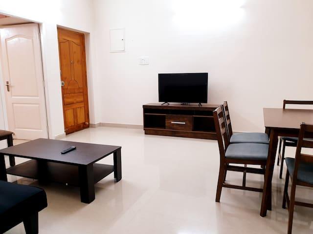 Chippy Apartment Furnished 3bhk/2bhk @Velachery F1
