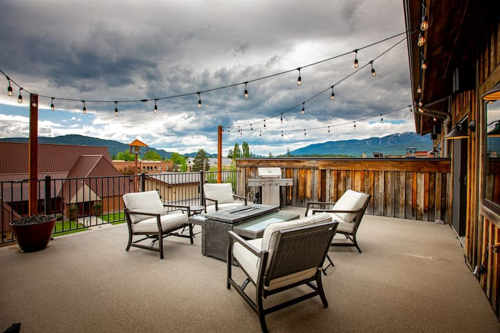 New Downtown Whitefish Penthouse!