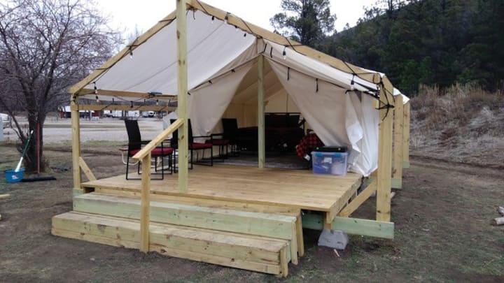 Camp @ Cloudcroft Wall Tent