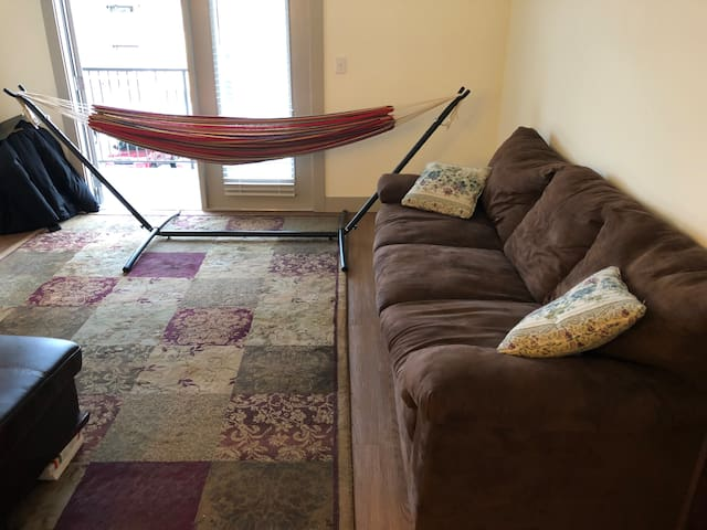 Couch and Hammock