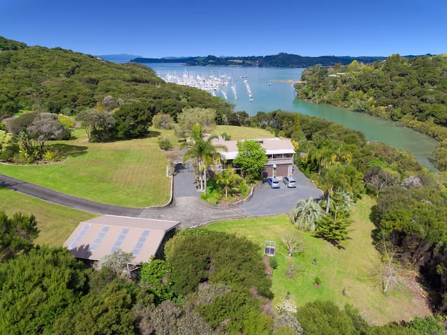 Kerikeri Inlet and Dove's Bay Marina Views.