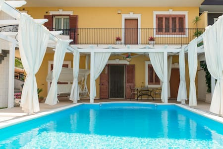Casa vacanza in villa con piscina - Palazzolo - Leilighet