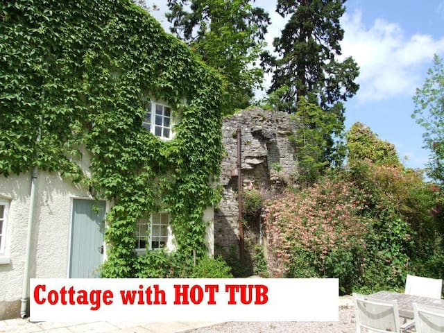 Tranquil Private Cottage with Hot Tub and Views - Denbigh - Talo
