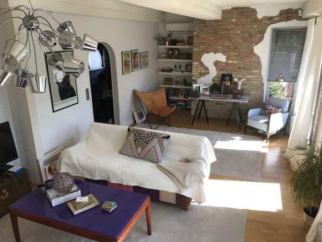 Charmig lägenhet i Långedrag nära hav och stad!