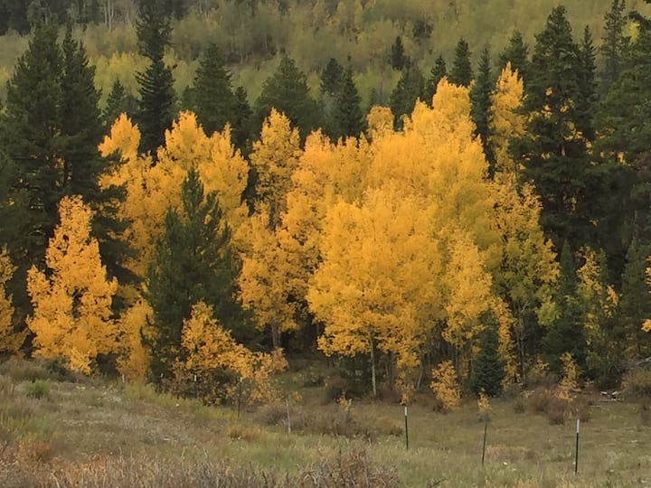 High Plains Outpost: private ground-level suite