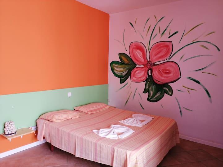 Camera Matrimoniale Confort con ventilatore